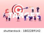 business goals achievement... | Shutterstock .eps vector #1802289142