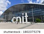 paris  france 08 24 2020 the... | Shutterstock . vector #1802375278