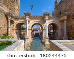 Hadrian's Gate In Old City Of...