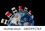 virus covid 19 attacking world. ...   Shutterstock . vector #1802491765