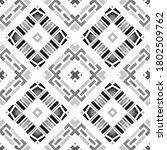 geometric watercolor african... | Shutterstock . vector #1802509762
