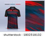 fabric textile for sport t... | Shutterstock .eps vector #1802518132