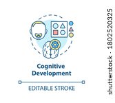 cognitive development concept... | Shutterstock .eps vector #1802520325