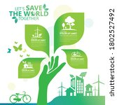ecology.green cities help the... | Shutterstock .eps vector #1802527492