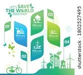 ecology.green cities help the... | Shutterstock .eps vector #1802527495