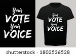 your vote your choice...   Shutterstock .eps vector #1802536528