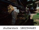 Luxury Wedding Car Decorated...