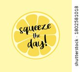 citrus is a holiday season | Shutterstock . vector #1802581018