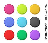 realistic detailed 3d color... | Shutterstock .eps vector #1802636752