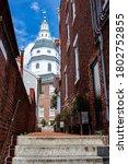 Bug Eye View Of Maryland State...