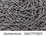 Wood Screws. Texture....
