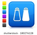 salt   pepper icon on square... | Shutterstock .eps vector #180276128