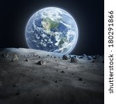 Earth Seen From The Moon....