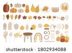 set of autumn vector...   Shutterstock .eps vector #1802934088