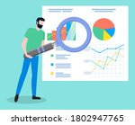 project management and... | Shutterstock .eps vector #1802947765