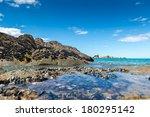 beautiful kaiteriteri beach in... | Shutterstock . vector #180295142