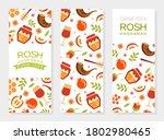 shana tova vertical banner... | Shutterstock .eps vector #1802980465