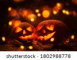 Halloween Pumpkin Head Jack O...