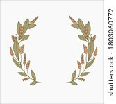 floral frames and borders... | Shutterstock .eps vector #1803060772