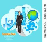 easy to edit vector... | Shutterstock .eps vector #180316178
