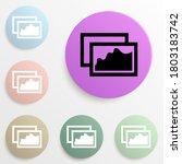 paintings badge color set....