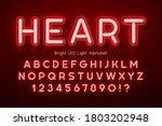Led Light 3d Alphabet  Extra...
