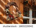 Decorative Design Window On The ...
