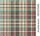 Tartan, plaid Seamless pattern. Wallpaper,wrapping paper,textile.Retro style.Fashion illustration,vector.Traditional Beige,brown,blue,red and white scottish ornament,background - stock vector