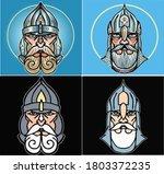 Ancient Slavic Warrior In...