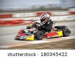 go cart racing | Shutterstock . vector #180345422
