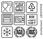 Symbols For Marking Plastic...