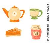 Tea Party Elements Set....
