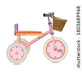 Kid Tricycle Illustration....