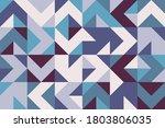 geometric artwork design with... | Shutterstock .eps vector #1803806035
