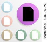 sheet badge color set. simple...