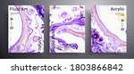 abstract liquid placard  fluid... | Shutterstock .eps vector #1803866842