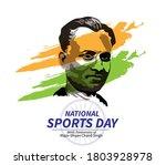 vector illustration of national ... | Shutterstock .eps vector #1803928978