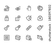 security element vector icon... | Shutterstock .eps vector #180397832