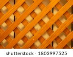 Wooden Lattice To Cover Radiator