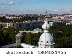 View From Bell Tower Smolny...