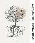 Tree Of Life Wall Art Print...