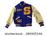 lettermans jacket | Shutterstock . vector #180405146
