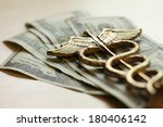 expensive healthcare concept ... | Shutterstock . vector #180406142