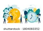 vector illustration isolated on ... | Shutterstock .eps vector #1804083352