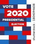 presidential election 2020 in...   Shutterstock .eps vector #1804094608