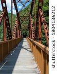 Discontinued Railroad Bridge As ...