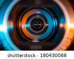 video camera lens | Shutterstock . vector #180430088