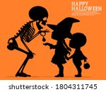 A Skeleton Is Giving The...