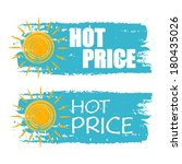 hot price banners   text in... | Shutterstock . vector #180435026
