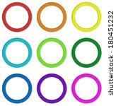 illustration of the nine... | Shutterstock .eps vector #180451232